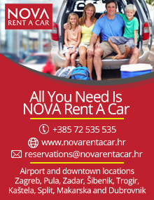 Rent a car in Croatia NOVA