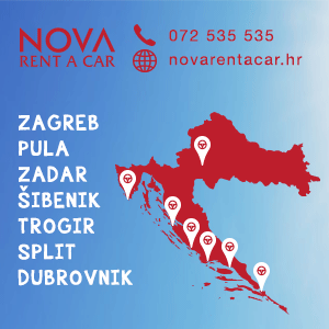 Nova car rental Croatia