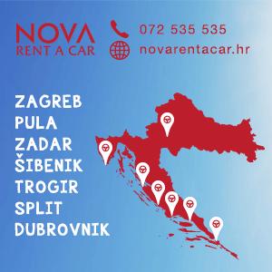 Nova car rental Croatia