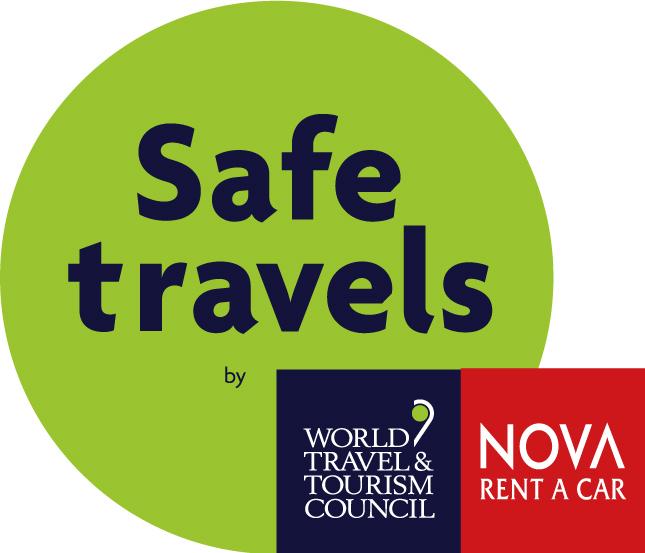 Safe travels with NOVA RENT A CAR